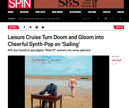 Exclusive Release in Spin Magazine
