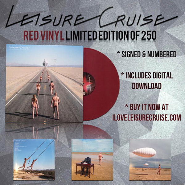 Leisure Cruise Limited Edition Red Vinyl
